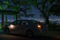呉羽山 桜の広場展望台