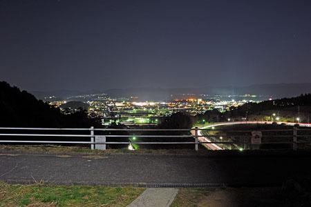 5号東公園の夜景