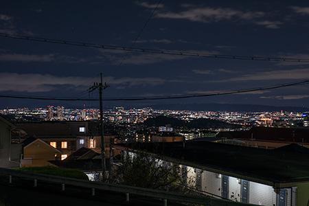 阿武山 登山ゲート近く