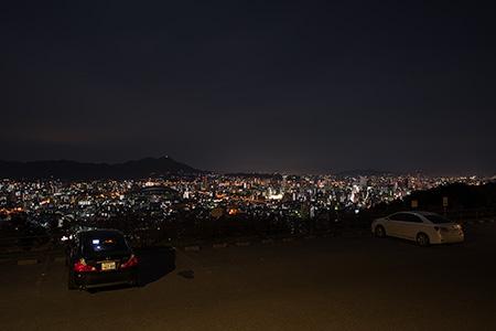 足立公園の夜景