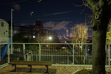 中村冒険パークの夜景