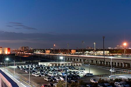 イオンモール幕張新都心 スカイパークの夜景