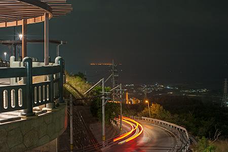 東太陽橋の夜景