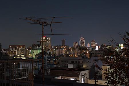 赤城神社の夜景