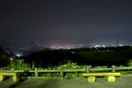赤城高原SA(下り)の夜景