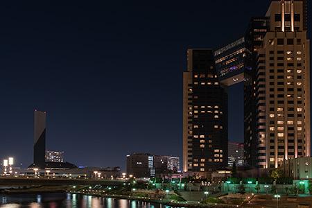 あけみ橋の夜景
