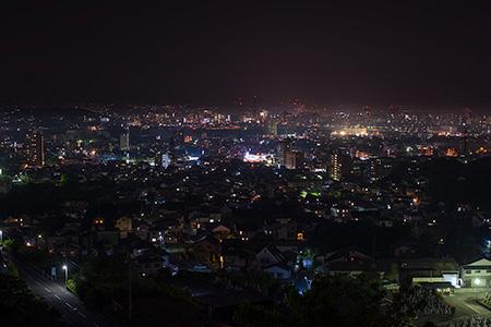 明野南の夜景