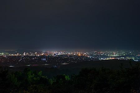甘木山の夜景