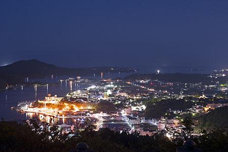 安波山 ひのでのてらすの夜景