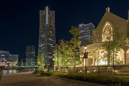 アニヴェルセルみなとみらい横浜の夜景