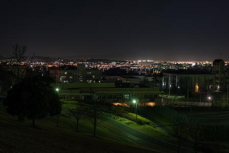 青葉公園の夜景