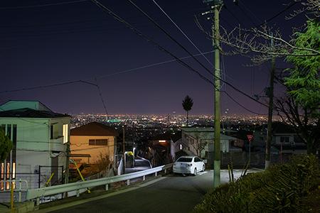 青葉台第一公園の夜景