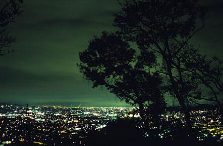 青木平の夜景