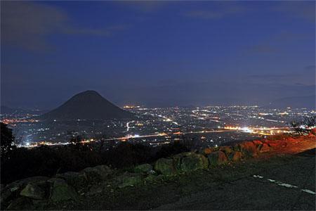 青ノ山の夜景