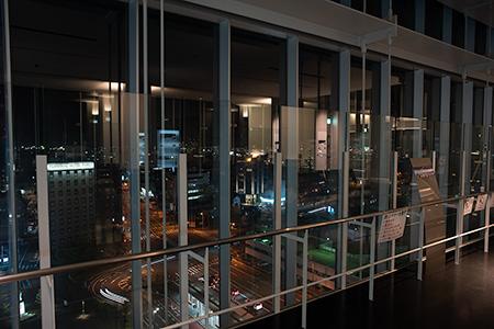 AOSSA(アオッサ)の夜景