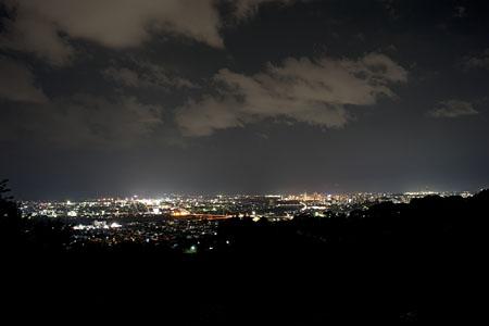 アップルロードの夜景
