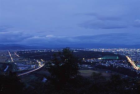 嵐山展望台の夜景