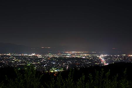 アルカディア大村 ますらがはら展望公園の夜景