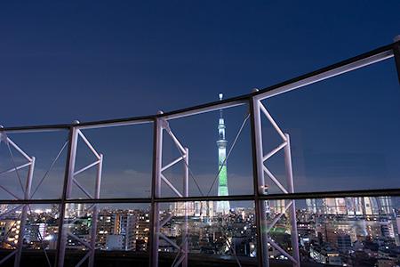 アルカキット錦糸町の夜景