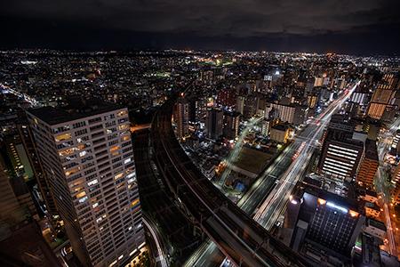 AER 展望テラスの夜景