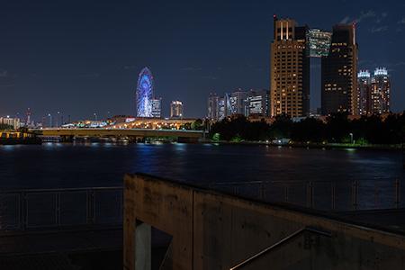 有明西ふ頭公園の夜景