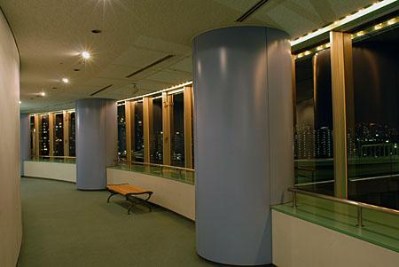 有明スポーツセンターの夜景