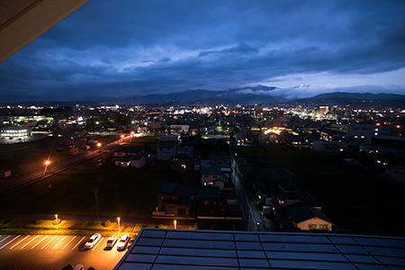 ありそドーム 展望塔の夜景
