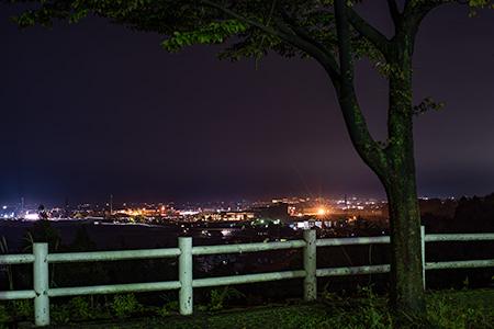 有磯海SA(下り)の夜景