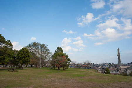 有吉貝塚公園の夜景