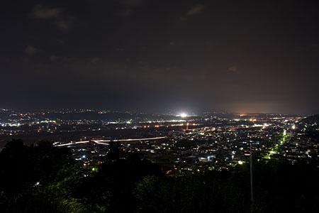 アルプスの丘公園の夜景