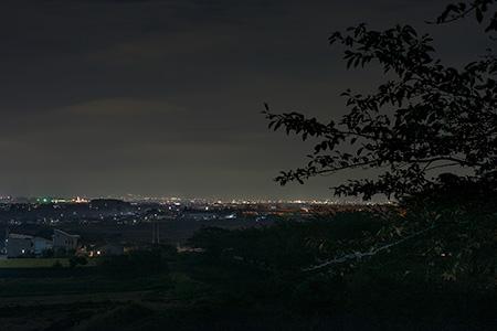 旭町上條中割の夜景