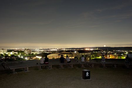 あさひ山展望公園の夜景
