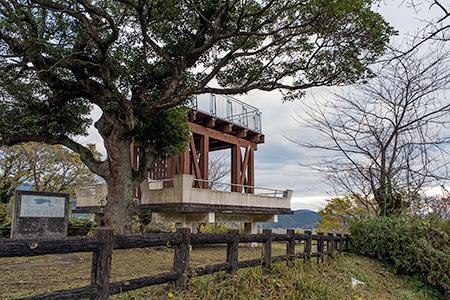 朝日山公園の夜景