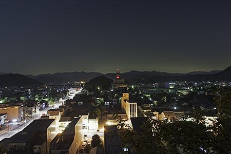 安桜山公園の夜景