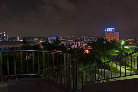 安里配水池公園の夜景