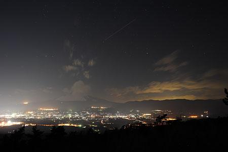 足柄城址の夜景
