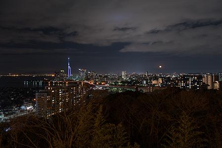 愛宕神社の夜景