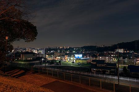 愛宕第三公園の夜景