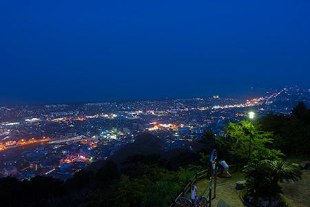 愛宕山公園の夜景