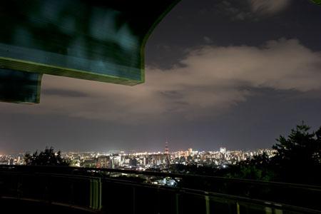 愛宕山記念公園の夜景