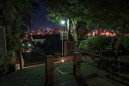 足羽山 愛宕坂の夜景