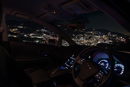 熱海市桜木町の夜景
