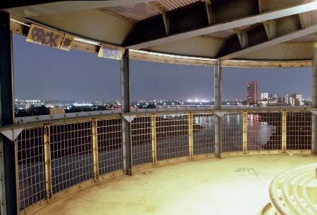 厚木パノラマタワーの夜景