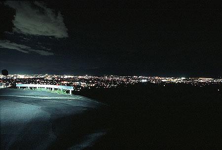 コモンシティあやめが丘の夜景