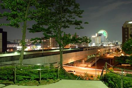 吾妻山公園の夜景