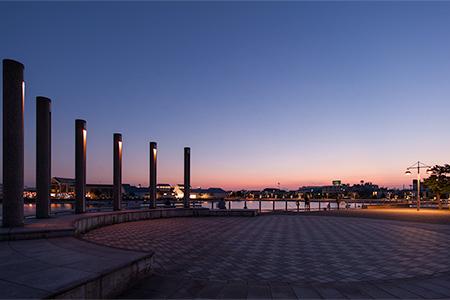 ベイサイドマリーナ横浜の夜景