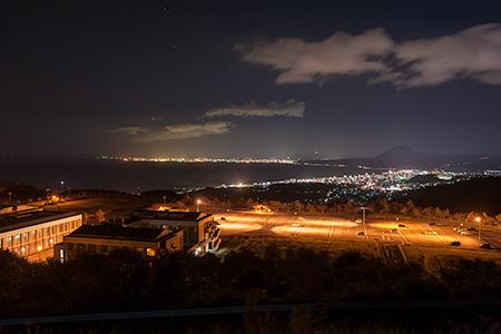 別府湾SAの夜景