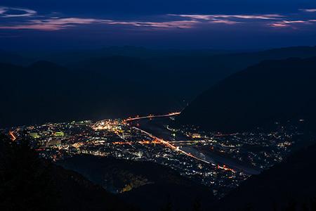 備中松山城展望台(天空の山城)