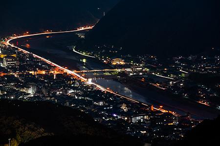 備中松山城展望台(天空の山城)の夜景