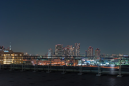 東京ビッグサイト スカイラウンジの夜景
